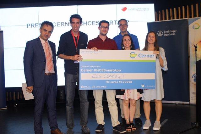 Premio Cerner HCESmartApp del Hackathon de Salud