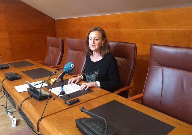 Mercedes Toribio, diputada del PP de Cantabria
