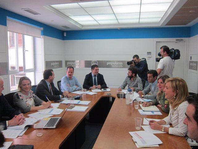 Reunión del Consejo de Dirección del PP de Bizkaia