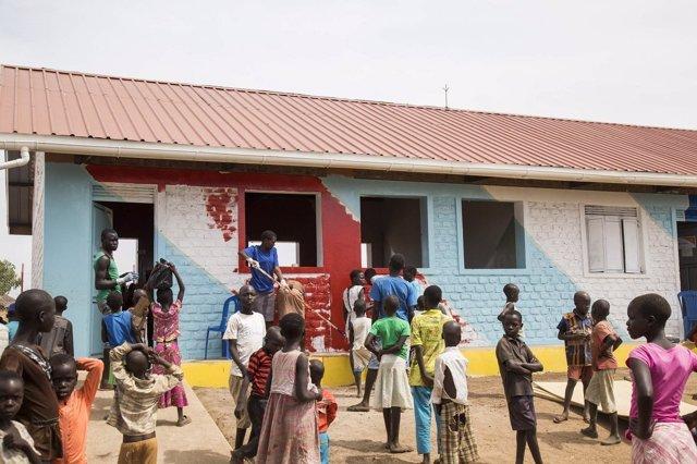 Proyecto de World Vision en el campo de refugiados de Bidibidi