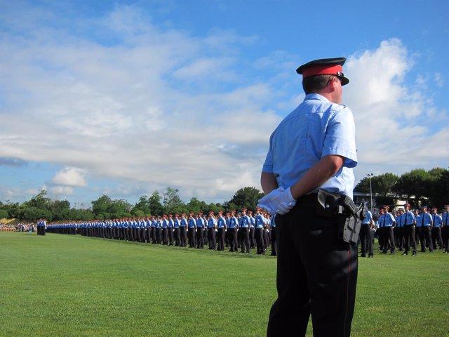 Graduación De Mossos 2012