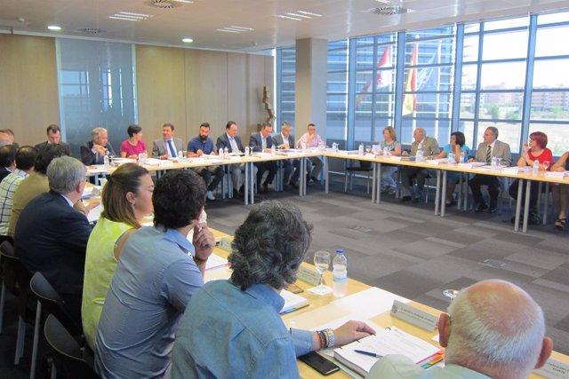 Valladolid. Reunión del Consejo de Políticas Demográficas de CyL