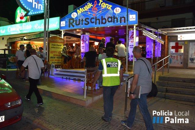 Policía de Palma
