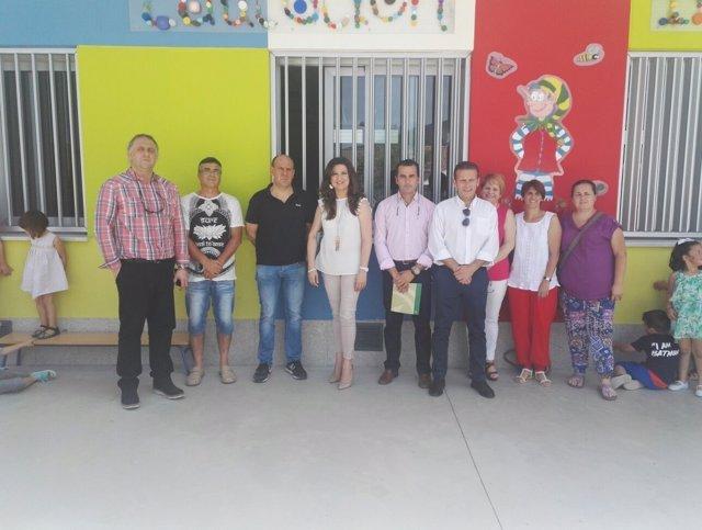 Visita al CEIP Santa Teresa