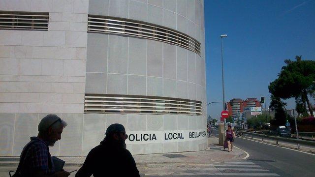 El edificio de la nueva comisaría.