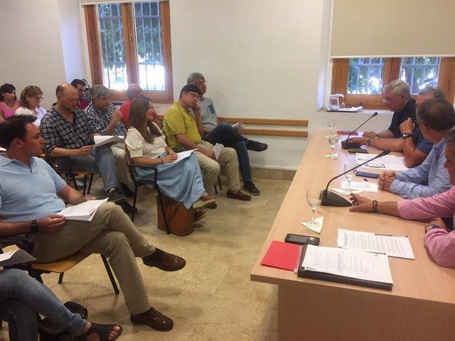 Verónica Pérez asiste a la presentación del Manifiesto en Defensa de Medio Rural