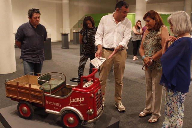 Valladolid: Soto durante la inauguración de la exposición