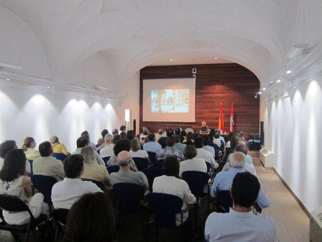 Valladolid. Presentación de la Agrupación de Arquitectos