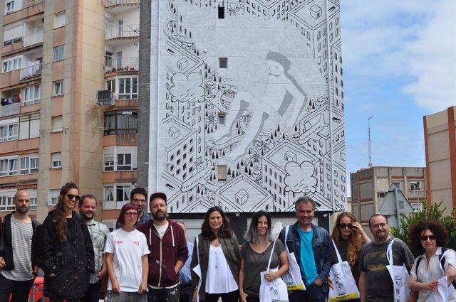 Visita a la obra de Millo en 'Desvelarte'