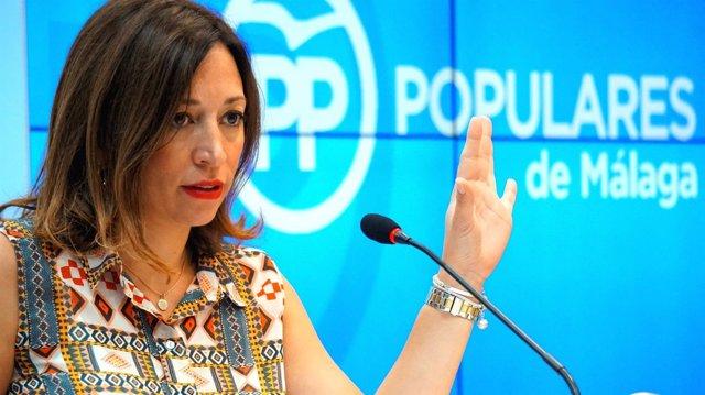 Patricia Navarro. Secretaria provincial del PP. Málaga