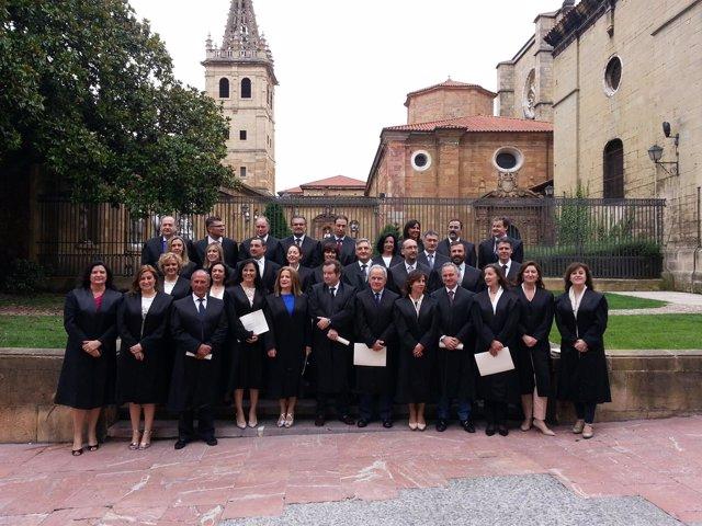 Colegiados Del Colegio De Abogados De Oviedo