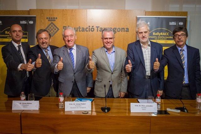 Presentación del RallyRACC Catalunya-Costa Daurada