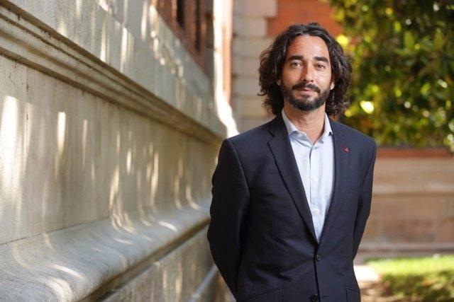 El diputado del PSC en el Parlament Carles Castillo.