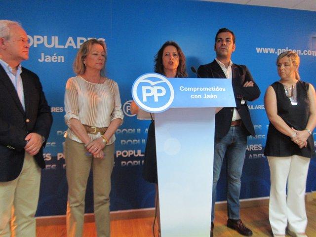 Rueda de prensa del PP de Jaén sobre  Plan de Verano