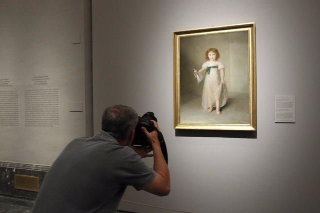 Exposición El desafío del blanco. Goya y Esteve, retratistas de la Casa de Osuna