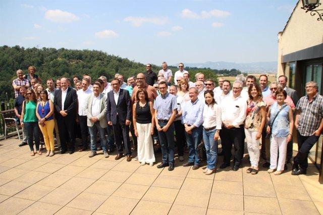 El conseller Josep Rull en la Convenció del Petit Municipi
