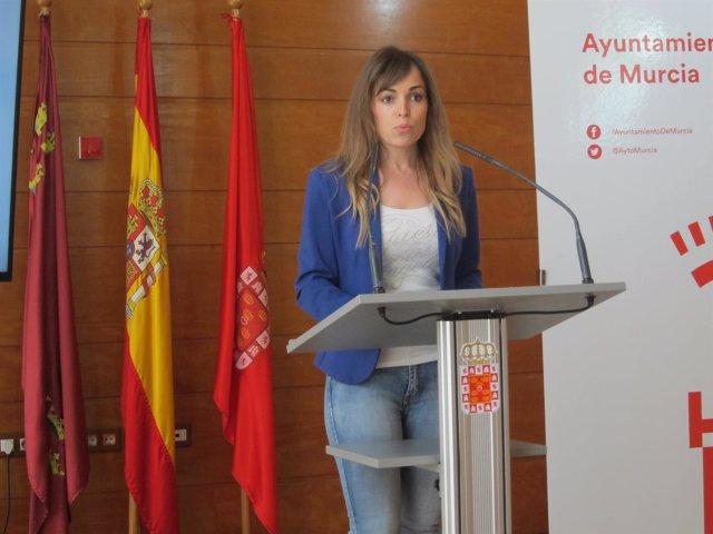 La portavoz del Gobierno local, Rebeca Pérez