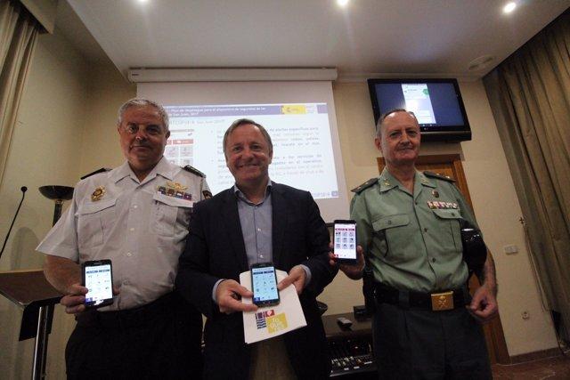 La 'app' permite al ciudadano conectar directamente con los agentes