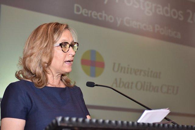 La directora de la Escuela Judicial, Gema Espinosa