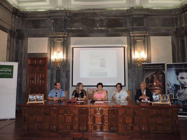Presentación de la novela de Antonia María Chico