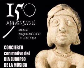 El Museo Arqueológico de Córdoba celebrará un concierto con motivo del Día Europeo de la Música