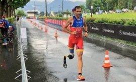 España conquista siete medallas en las pruebas para triatletas con discapacidad de los Europeos de Kitzbühel