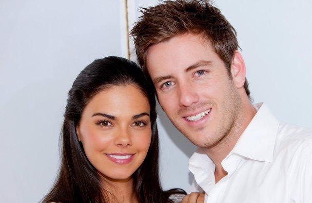 Livia Brito y Juan Diego Covarrubias