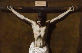 El Museo de Bellas Artes de Sevilla expone 'Cristo Crucificado Muerto', de Zurbarán, una vez restaurado en sus talleres