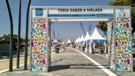 La feria comarca Sabor a Málaga arranca en San Pedro Alcántara con una treintena de productores