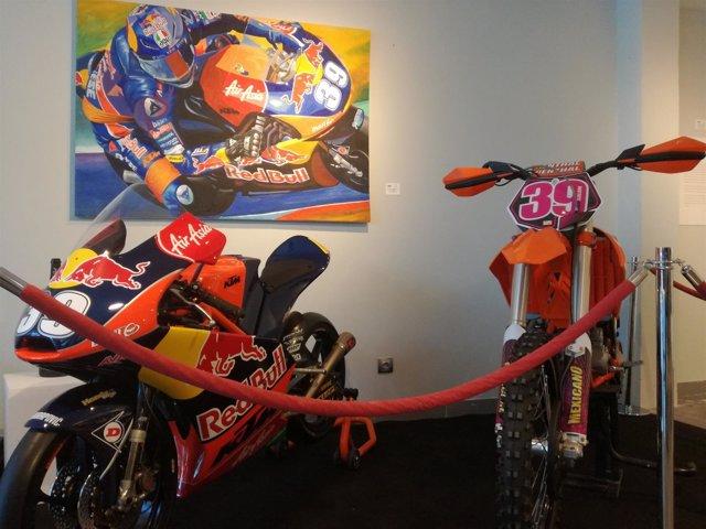 Lluís Salom se proclamó subcampeón de moto3 en 2012 con esta moto