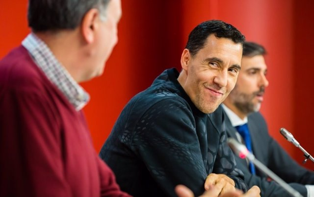 Pablo Prigioni en su despedida como baskonista