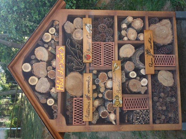 Sant Hilari Sacalm estrena un hotel de insectos