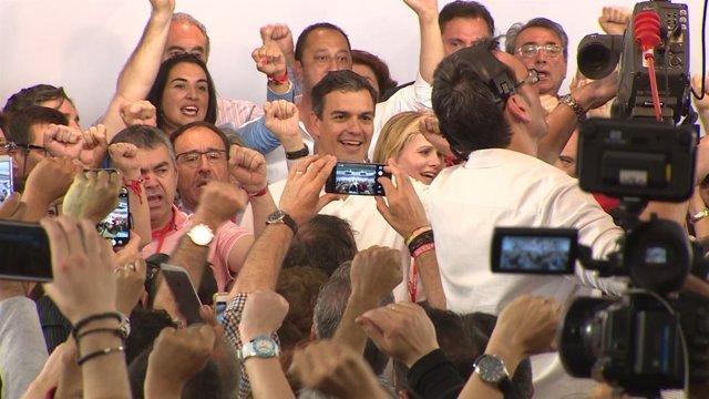 Pedro Sánchez va cerrando la nueva Ejecutiva del PSOE
