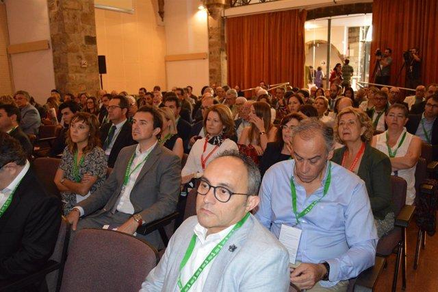 Asistentes a la 28 Trobada empresarial al Pirineu