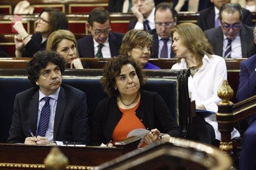 Dolors Montserrat preside en el Senado la Comisión General de las CCAA