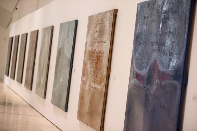 Exposición Flor Novoneyra en la Ciudad de la Cultura de Galicia