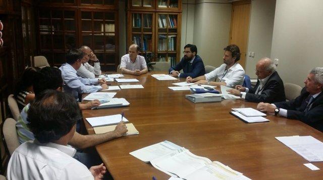 Reunión en el Ministerio