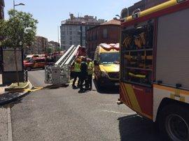 Muere una mujer de 94 años en un incendio en Tetuán que genera también dos heridos leves por inhalación de humo