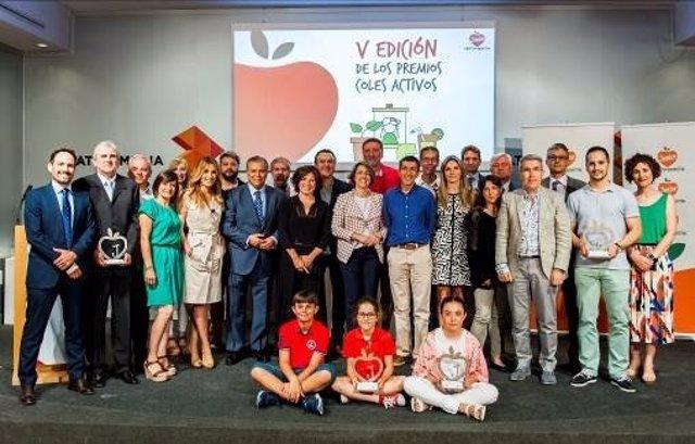 Premios 'Coles Activos' 2017