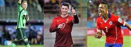 Alemania, Portugal y Chile, favoritas para ganar la Copa Confederaciones