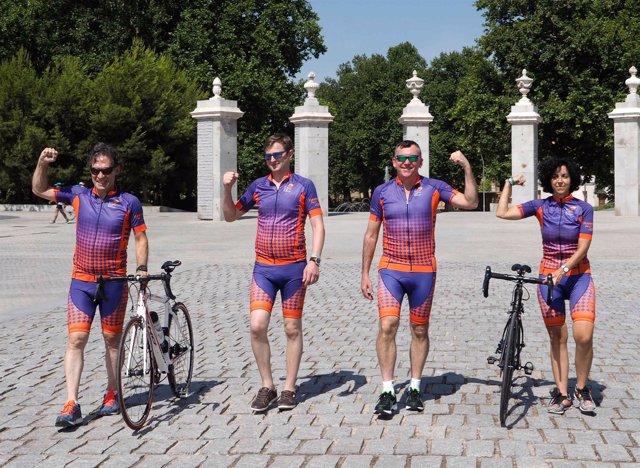 Ciclistas trasplantados