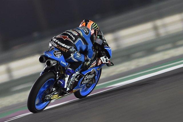 El piloto de Moto 3 Arón Canet