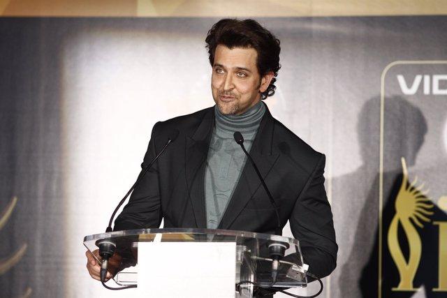 Hrithik Roshan, actor de Bollywood, en la IIFA Weekend and Awards en Madrid