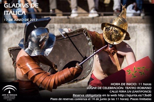 Los gladiadores vuelven a Itálica.