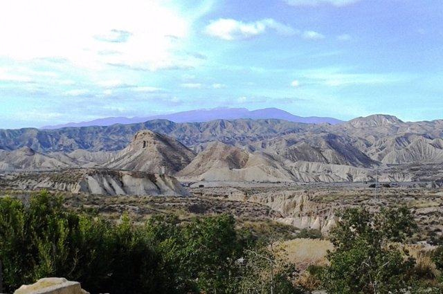 Imagen del Desierto de Tabernas (Almería)