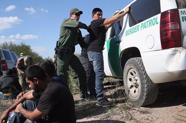 Inmigrante- Frontera - Mex