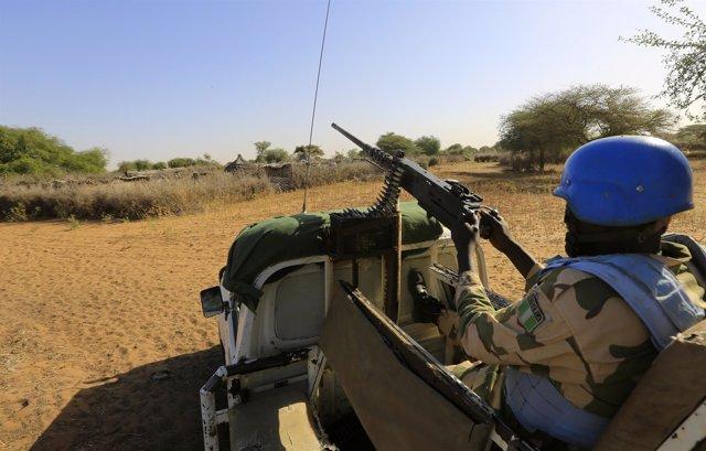 'Cascos Azules' De La UNAMID En Darfur