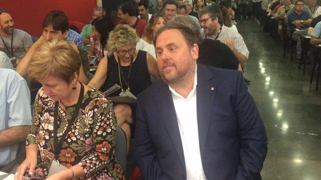 El vicepresidente de la Generalitat y líder de ERC, Oriol Junqueras