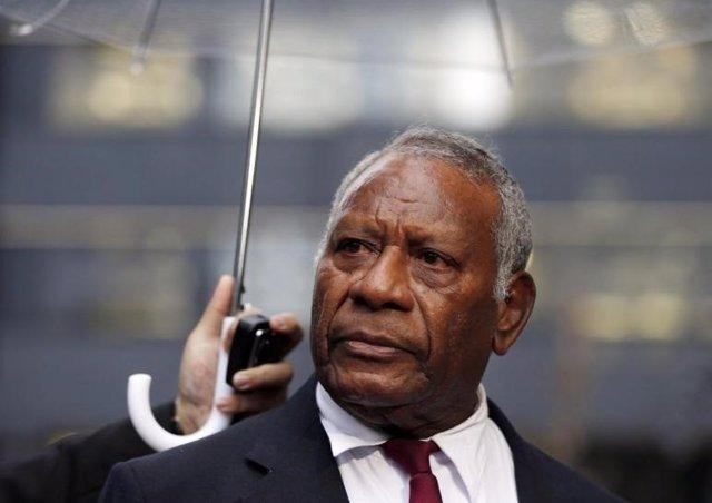 Baldwin Lonsdale, fallecido presidente de Vanuatu