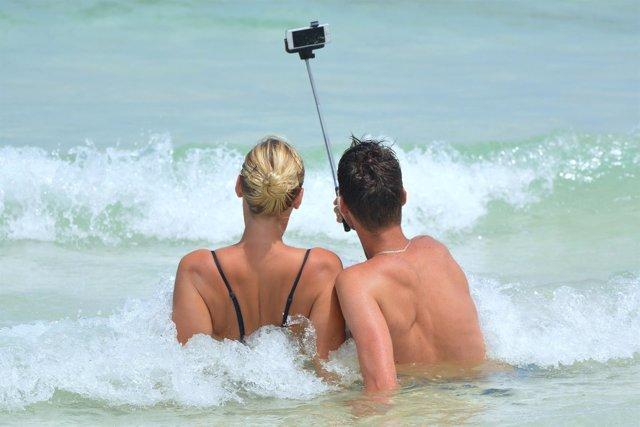 Selfie en la playa